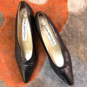 VIA SPIGA Black Shoes size 8.5